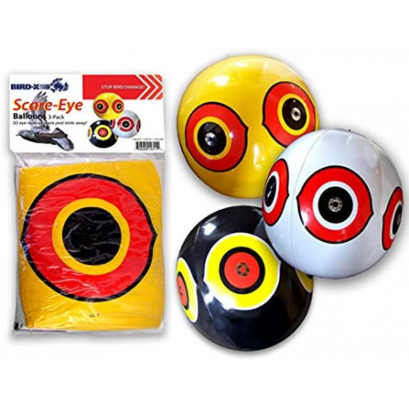 SCARE EYE BALLON (pack 3 ballons)