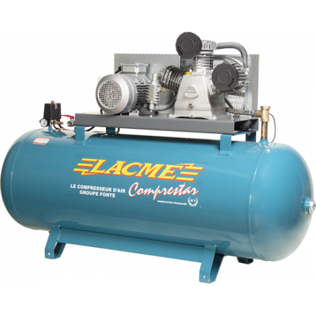 Compresseur LACME 42 V 500 L Triphasé Fixe
