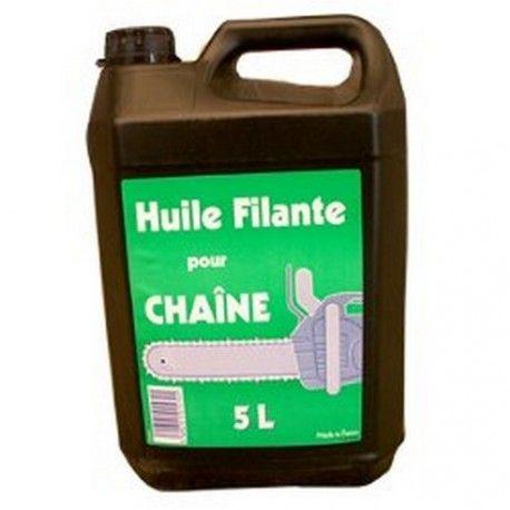 HUILE DE CHAINE TRONCONNEUSE