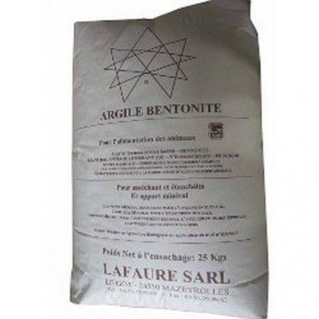 ARGILE BENTONITE