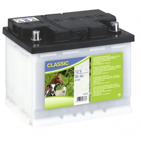 Batterie humide à déchargement lent 12 V / 80 Ah