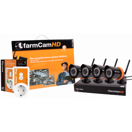KIT FARMCAM HD + CAMERAS
